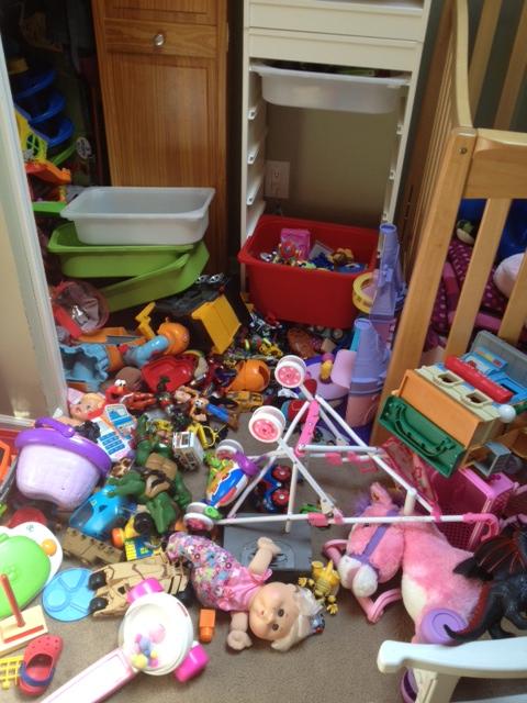 messy kids room | Highchairs & Headaches